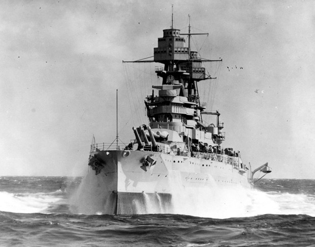 The USS Arizona was one of four battleships destroyed during the Dec. 7 attacks on Pearl Harbor.