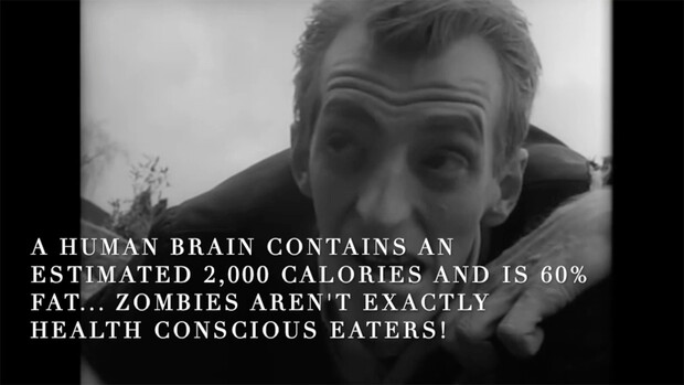 """Modeled after VH1's """"Pop Up Video,"""" students in the course have added fun facts to films featured in the """"Movies with Brains"""" series. This fact is from """"Night of the Living Dead,"""" which shows Oct. 28."""