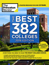 "Cover of the ""Best 382 Colleges"" book"
