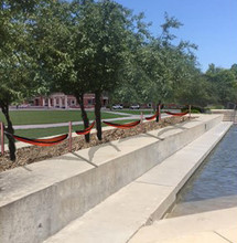 Proposed design of Nebraska's new hammock area by Broyhill Fountain