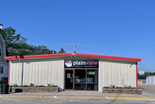 Plainview Family Pharmacy is owned by Ashley Dendigner, who took over on Jan. 1, 2020, with help from a low-interest loan from Plainview's revolving loan fund.