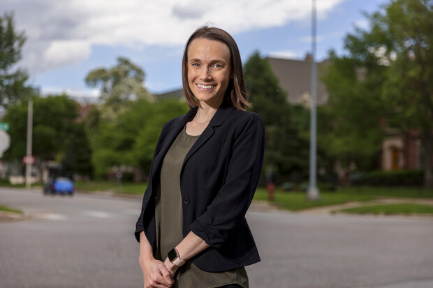 Anna Jaffe, assistant professor of psychology at Nebraska, is collaborating with Husker sorority members to develop a web-based, social network-driven tool that will help these women support survivors of sexual assault in the long term — without alcohol.