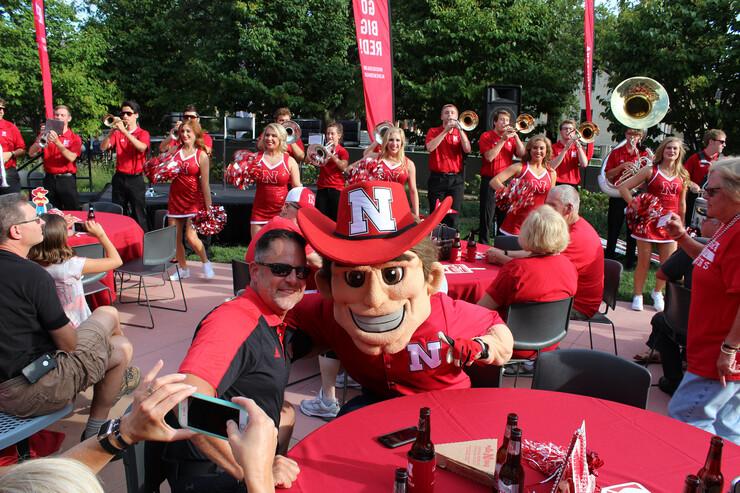 The Nebraska Alumni Association's Football Friday series kicks off Sept. 3 at the Wick Alumni Center.