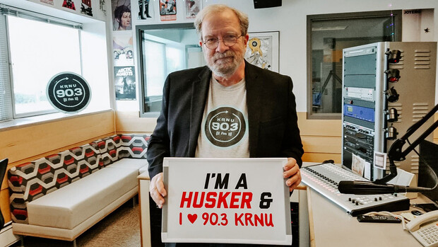 Nebraska's Rick Alloway has helped guide KRNU since he joined the faculty in 1986. He also worked at the station as a student.