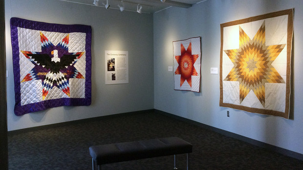 "The International Quilt Study Center and Museum will host a free ""Family Fun Day"" as part of the Hubbard First Peoples series on Oct. 12. The event will include a Native American storyteller, various activities and the ""Native American Star Quilts"" exhibition."