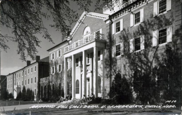 Raymond Hall following the addition of Love and Heppner wings in 1940.