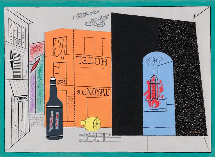 """""""Arch Hotel"""" by Stuart Davis"""
